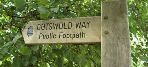 Cotswold Way Sign Post