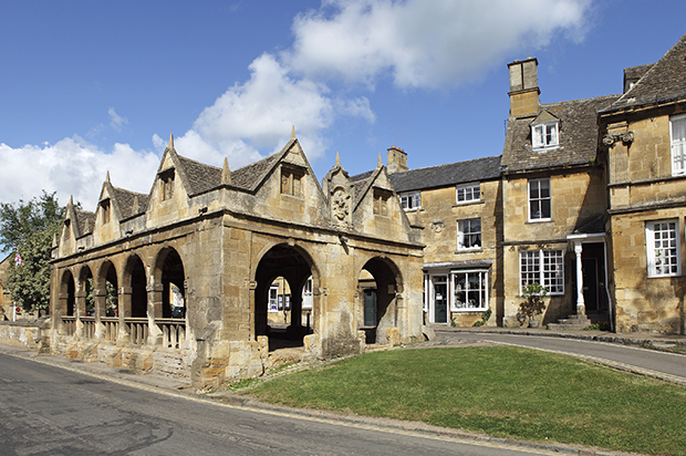 Cotswold Way Chipping Campden Market Hall