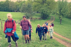 Cotswold Way Hikers