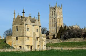 Cotswold Way house & church