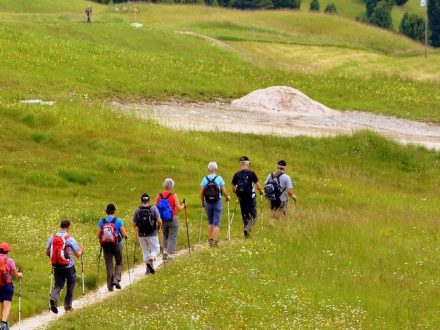 Cotswold Way group hikers