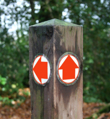Public Byway sign