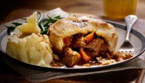 Food in The Cotswolds Steak & Ale Pie