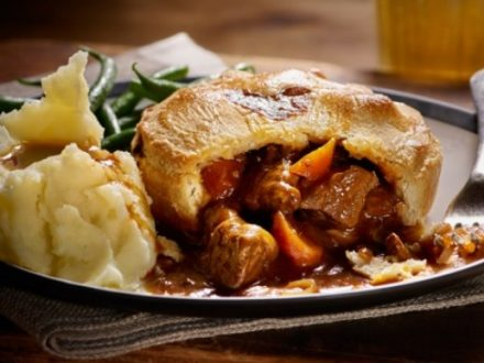 Food in The Cotswolds Steak & Ale Pie