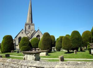 The Cotswolds Painswick church