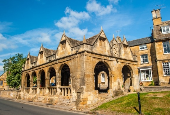 Cotswold walking co Market Hall Chipping Campden
