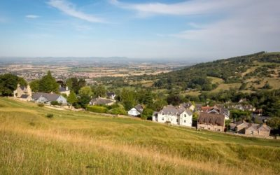 Cotswold Walking Co Cleeve Hill view